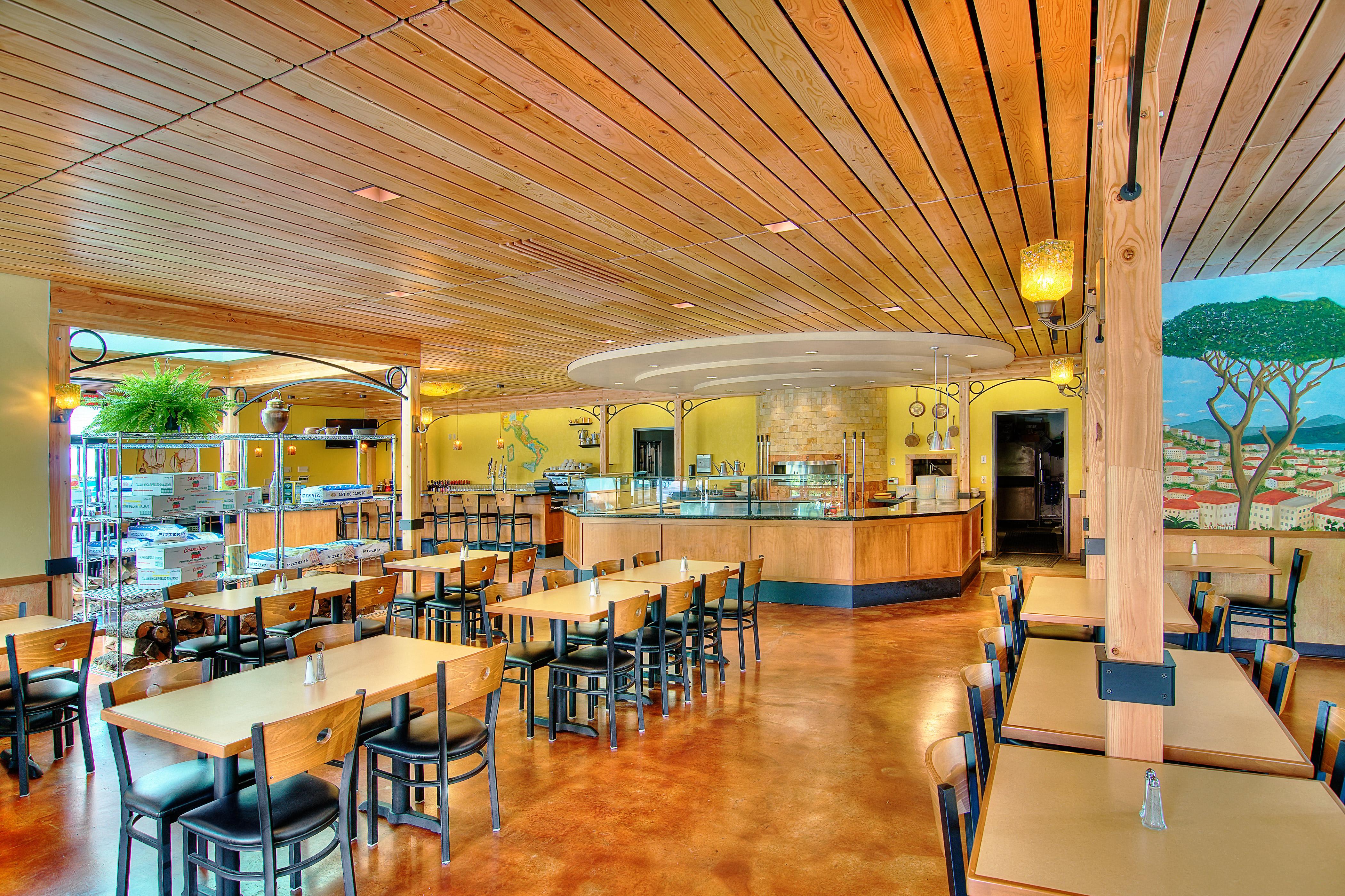 Laperla Interior Dining 2 Nir Pearlson Architect